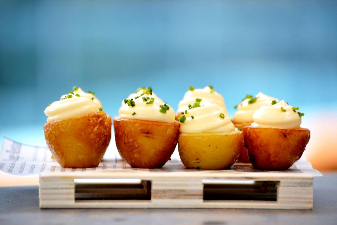 Cómo preparar patatas rellenas