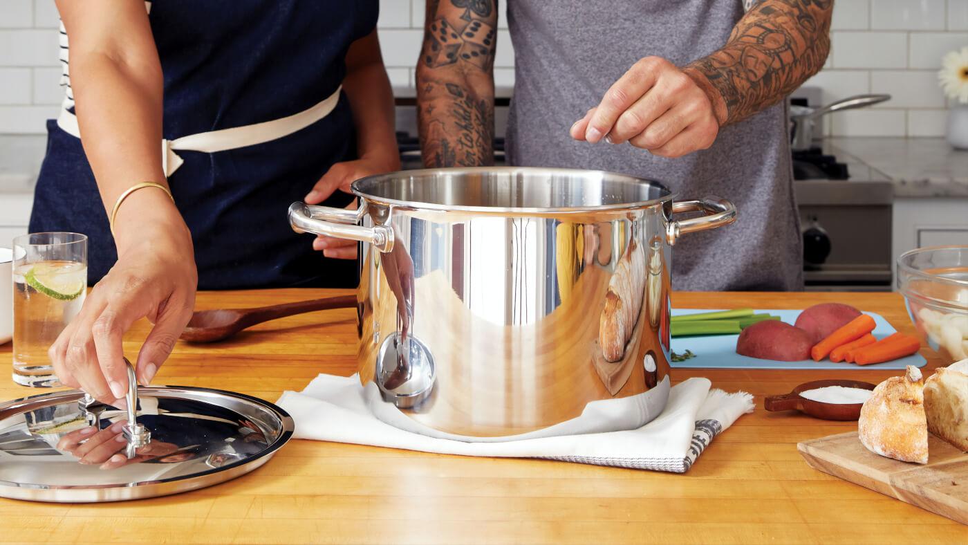 Recetas de cocina fáciles y sanas.