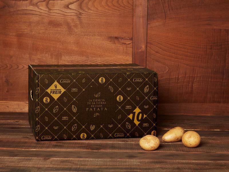 Comprar patacas para fritir (caixa 10 kg)