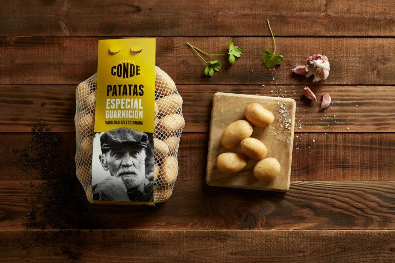 Comprar patacas para guarnición. Patatas Conde