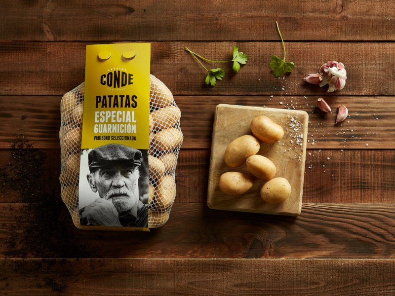 Patatas Conde - Potatoes for garnish