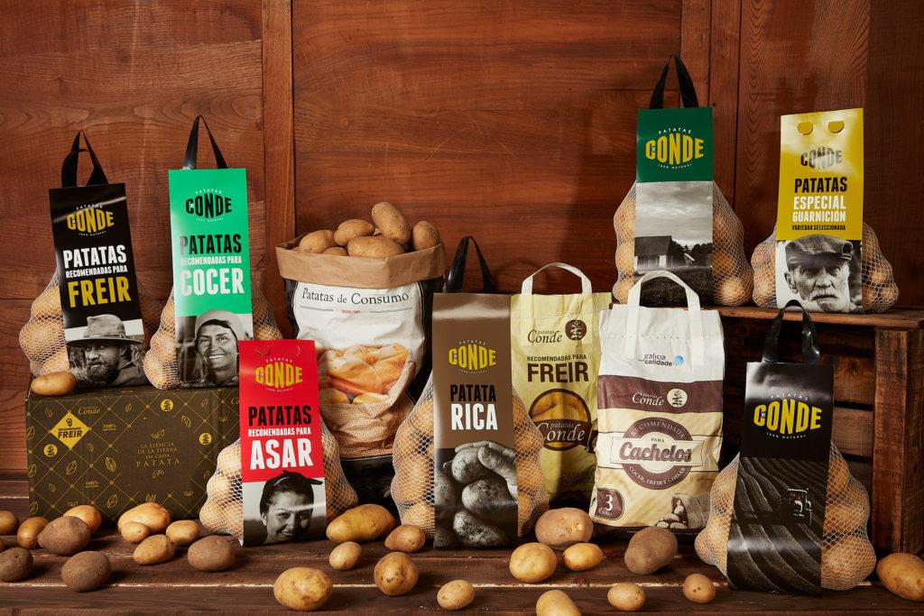 Comprar patatas online. Patatas Conde