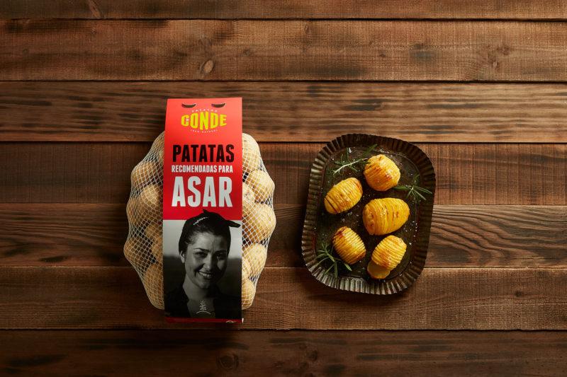 Comprar patatas para asar. Patatas Conde