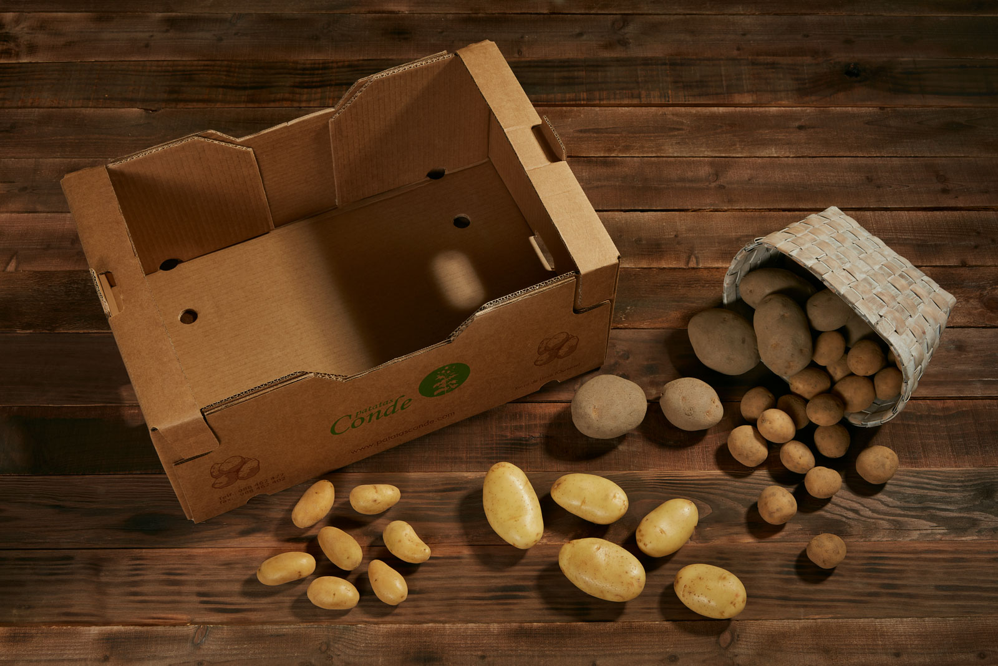 Patatas Conde - Patata Común y Guarnición