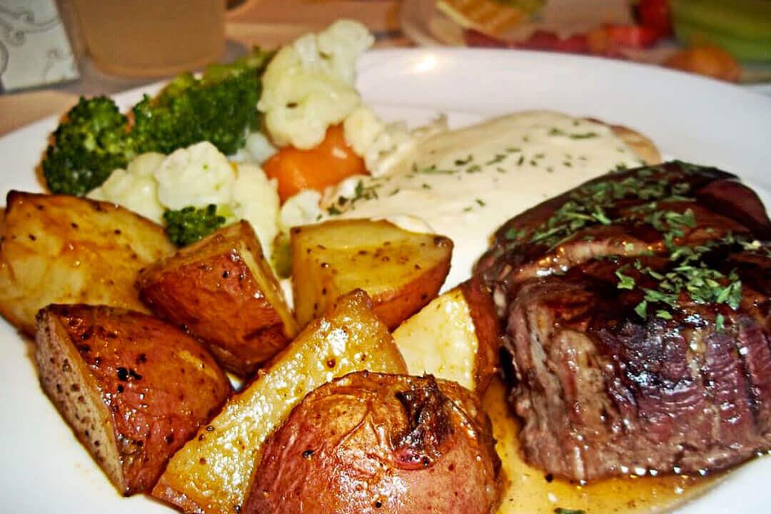 Receta de solomillo de cerdo al horno con patatas