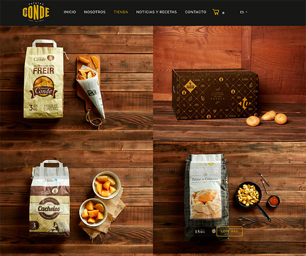 Tienda Patatas Conde